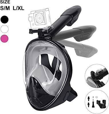 Unigear 180° Full Face Snorkel Mask -Panoramic View