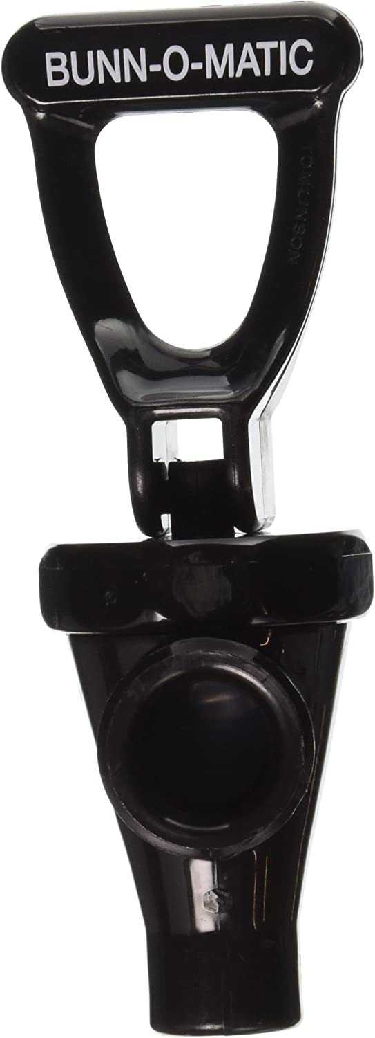Bunn 03260.0001 Black Plastic Faucet Assembly