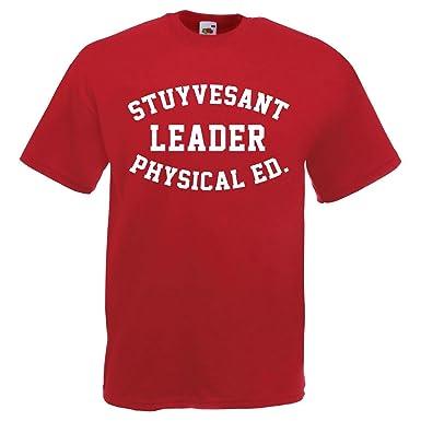 37e7930a Go T-Shirts Retro Hip Hop Beastie Boys Fight for Your Right Stuyvesant  Leader T Shirt: Amazon.co.uk: Clothing