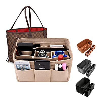 Amazon Com Kumako Handbag Organizer Bag In Bag For Felt Insert