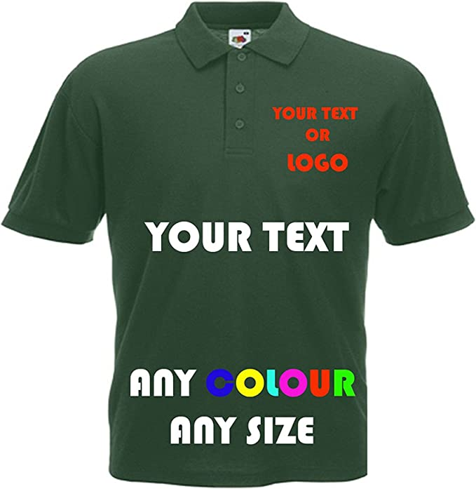 Custom Personlised Your Text Photo Logo T-shirt Unisex Birthday Stag Hen Party