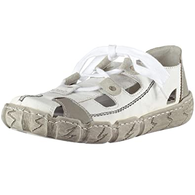 ee340efc8aed Rieker Hertha L0325-80, Damen Sneaker, weiss kombi, (weiss grey), EU ...