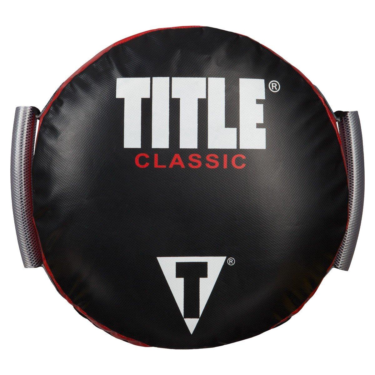 Titleクラシックラウンドパンチシールド One B01BCM6L34 One Size ブラック Size/レッド B01BCM6L34, FEELPROJECT:4bd4b977 --- capela.dominiotemporario.com