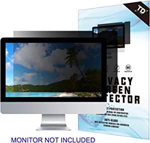 18.5''W Inch Privacy Screen Filter for Desktop Computer Widescreen Monitor - Anti-Glare, Blocks 96% UV,Anti-Scratch with 16:9 Aspect Ratio