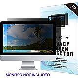 27''W Inch Privacy Screen Filter for Desktop Computer Widescreen Monitor - Anti-Glare