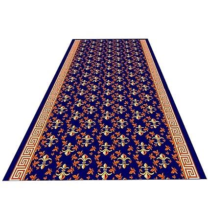 HAIPENG-alfombras pasillo Corredor Entrada Antideslizante Espalda De Goma Lavable para Sala Comedor Moderno (