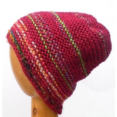 Dreadz Multi Coloured Slouchy Beanie Hat  Amazon.co.uk  Clothing 874a81029b8