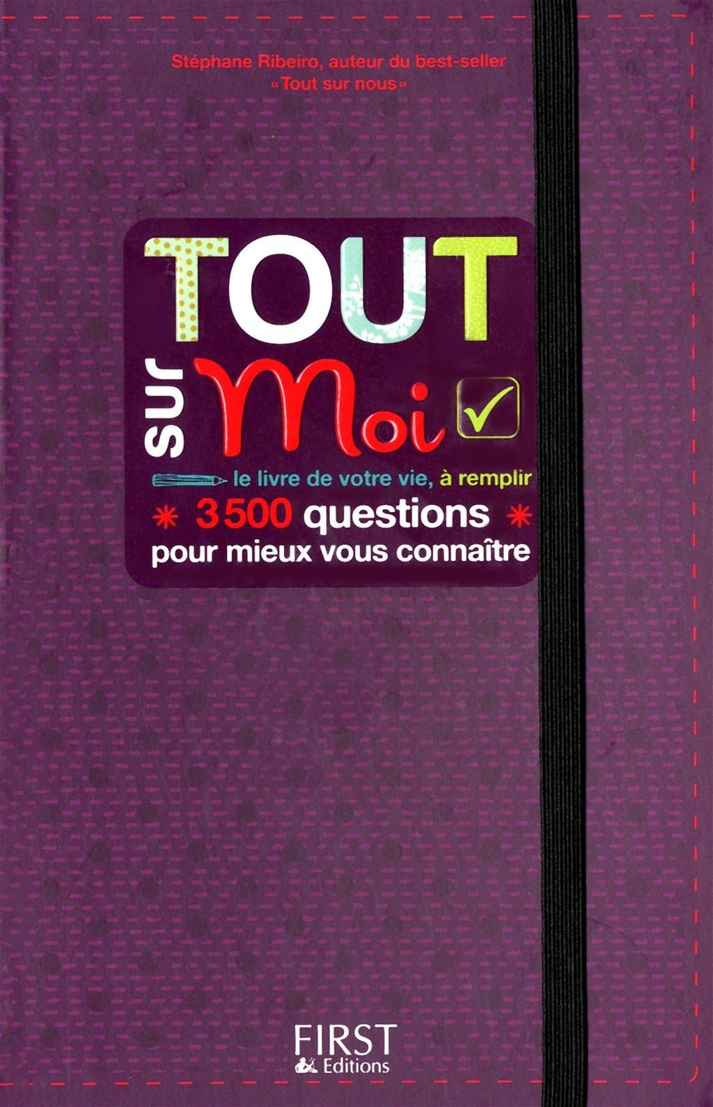 Extrêmement Amazon.fr - TOUT SUR MOI - STEPHANE RIBEIRO - Livres IG44