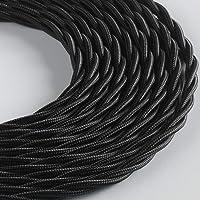 Klartext - Cable textil trenzado para instalación eléctrica