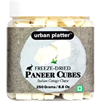 Urban Platter Freeze Dried Paneer Cubes, 250g [Indian Cottage Cheese]