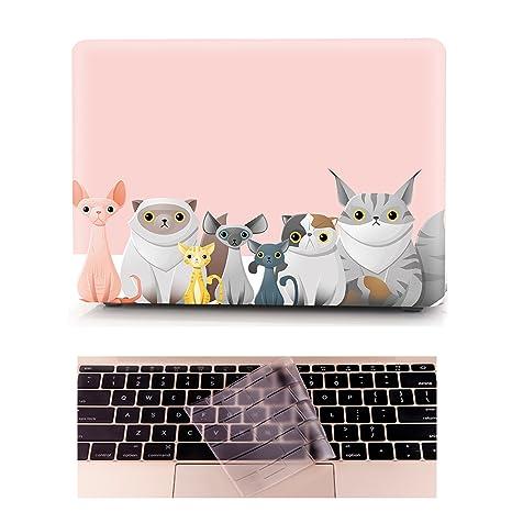 Funda MacBook Pro 13 Carcasa - L2W Ordenadores Portátiles para Apple MacBook Pro 13 Pulgadas con
