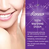 Teeth Whitening Kit - 30 Treatments Whitening Gel Kit + 20 Remineralization Gel + 3 Vitamin E Swabs + UV Light