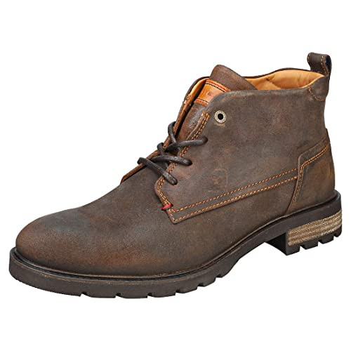 93cc7e690eb11a Tommy Hilfiger Winter Chukka Boots Tan  Amazon.co.uk  Shoes   Bags