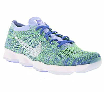 huge discount fb988 d3014 Nike WMNS Flyknit Zoom Agility, Chaussures de Tennis Femme, Bleu-Azul (Chalk