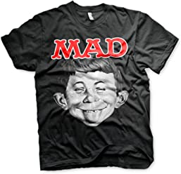 Officially Licensed Merchandise Mad Magazine Messenger Bag