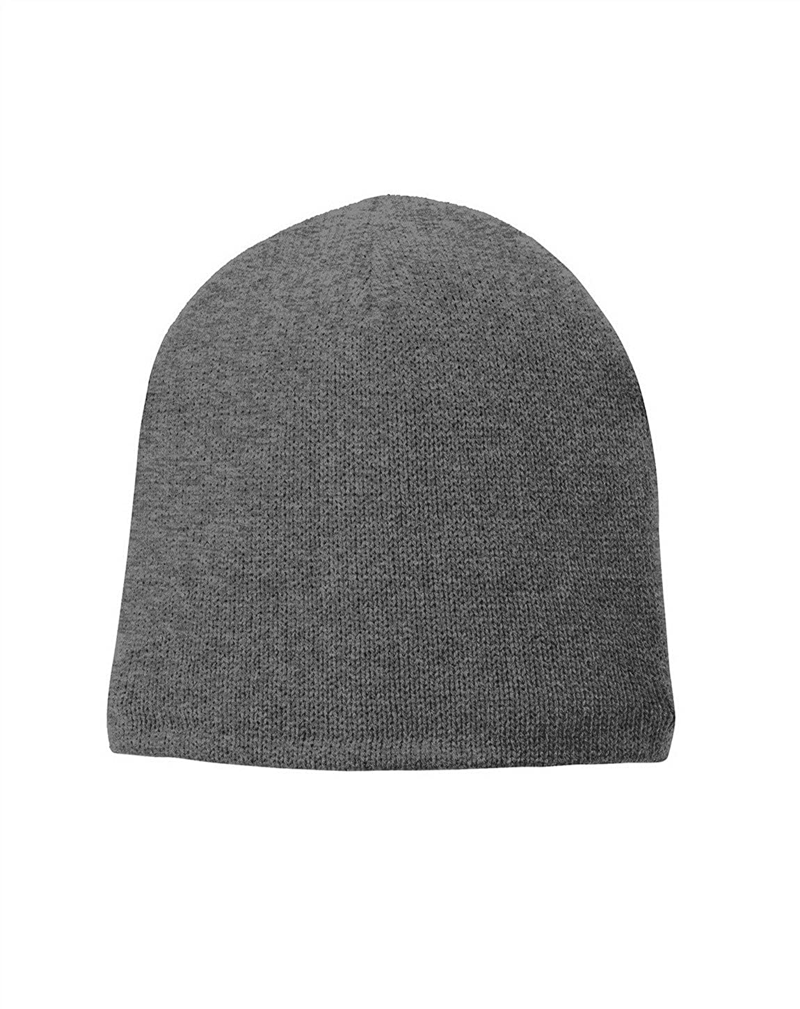 e0629485949 Port   Company Fleece-Lined Beanie Cap CP91L Athletic Oxford One Size at  Amazon Men s Clothing store