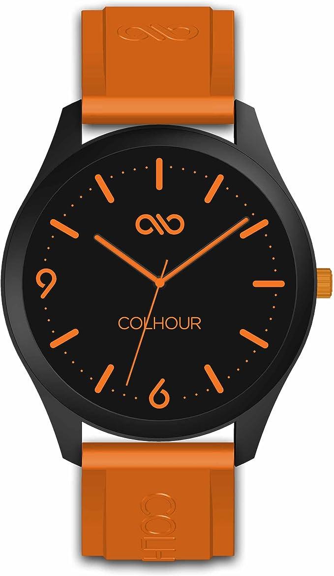 Colhour Watches - Reloj de Pulsera Unisex con Correa de Silicona ...