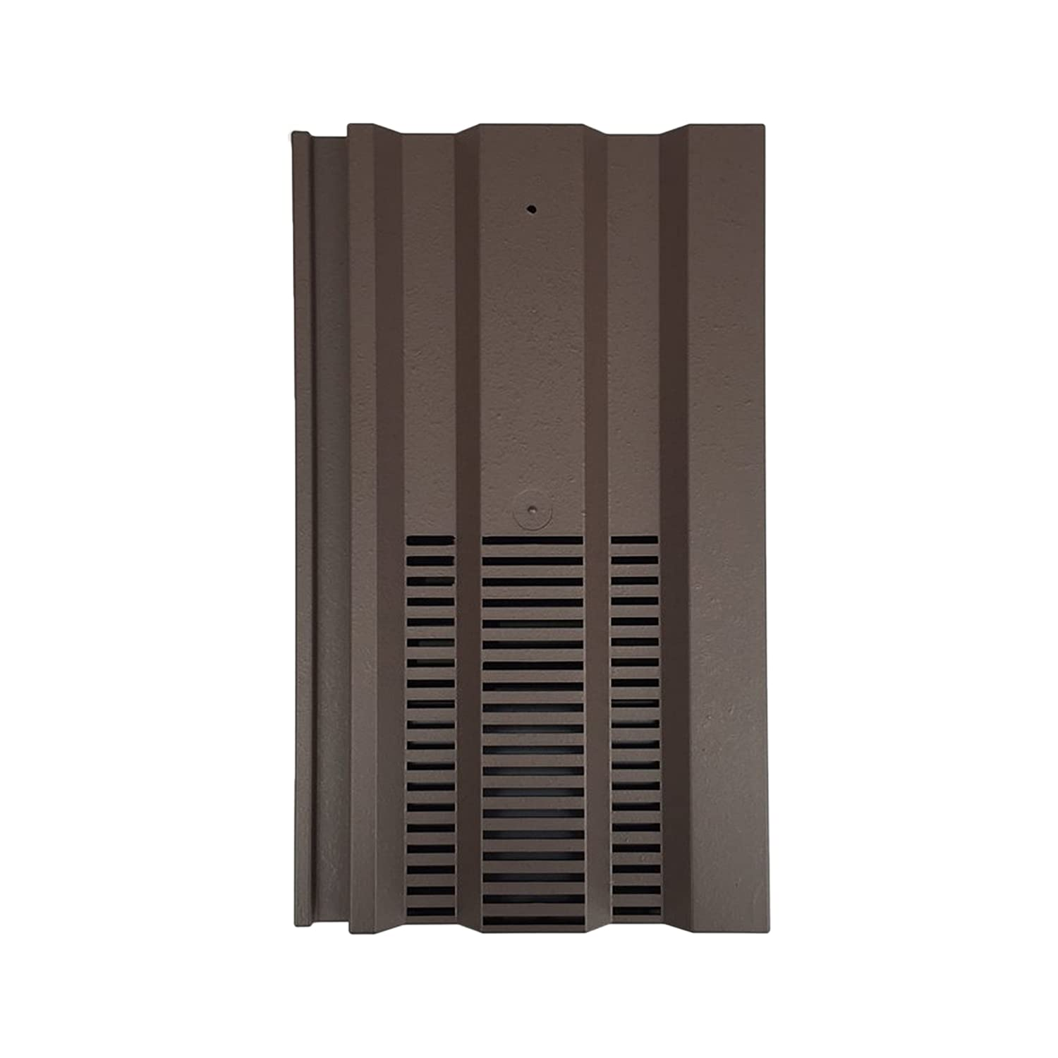 Beddoes Products Roof Tile Vent To Fit Marley Ludlow Plus, Redland 49, Forticrete V2-15 x 9 Format With Pipe Adaptor For Extractor Hose Connection (Brown - Smooth) Available in 14 Colours
