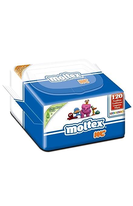 Moltex WC - Toallitas para bebé, diseño Pocoyó, 120 unidades