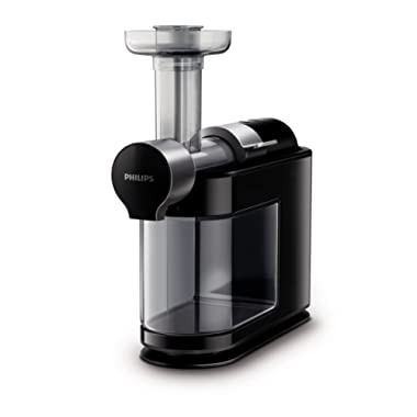 Philips Kitchen Philips HR1895/74 Micro Masticating Juicer Avance Collection, Black, One Size,