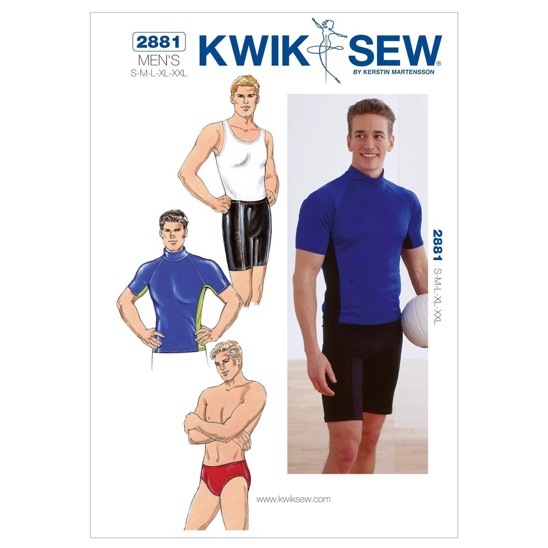 Kwik Sew 2881 - Patrón de costura para confeccionar ropa deportiva ...