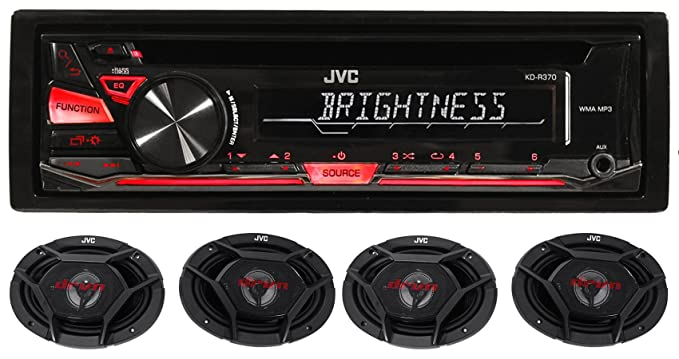 Review Package: JVC KD-R370 In-Dash