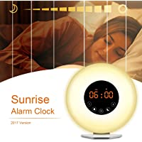 AK1980 Alarm Clock with Wake-up Light Sunrise Simulation