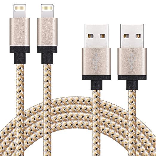 9 opinioni per SURWELL[2 Pack] Cavo Lightning di caricare di USB 2m e Trasmissione Dati per