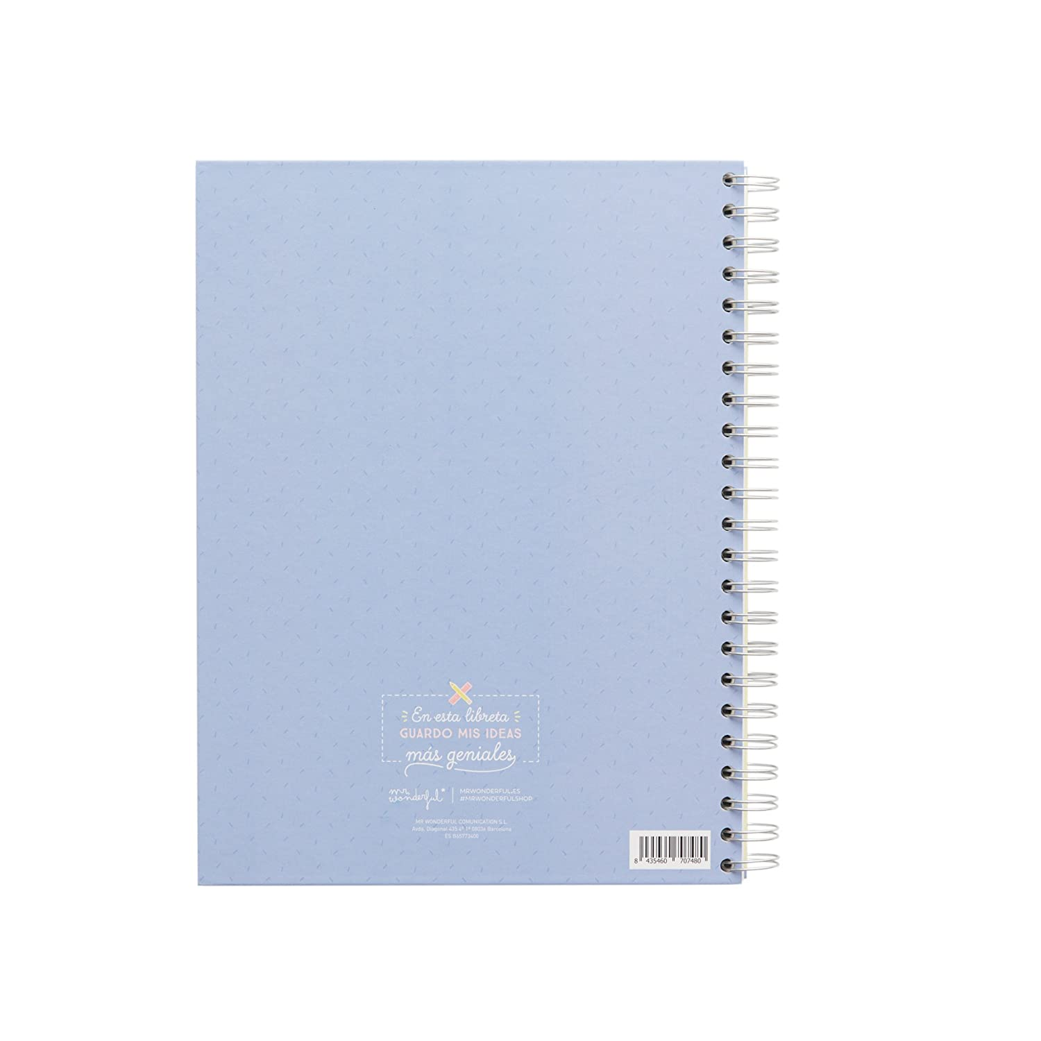 Amazon.com : Mr. Wonderful WOA03712ES - Large Notebook, Make ...