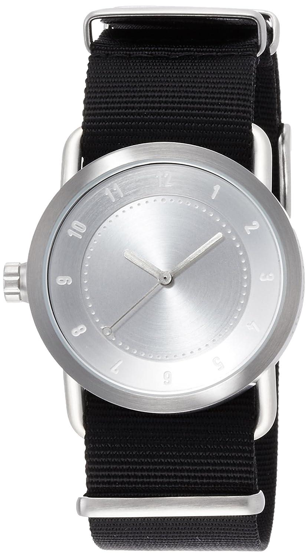 [ティッドウォッチ]TID Watches デザイナーズウォッチ NO.1 引き通し TID01-36 SV/NBK 【正規輸入品】 B01KT1ECDA