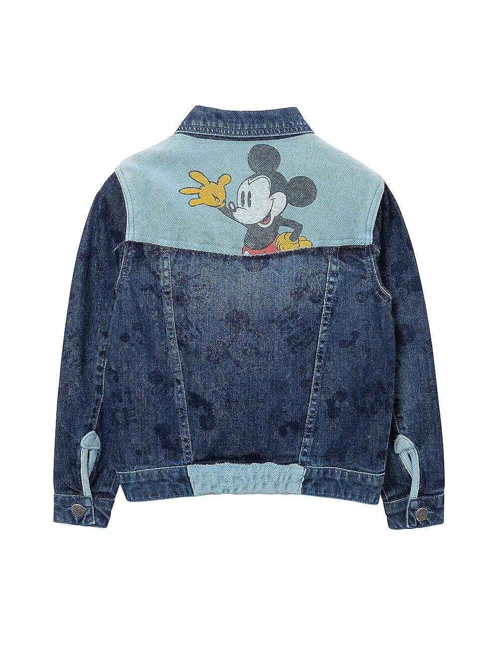 Desigual Jacket Mickey Cappotto Bambina