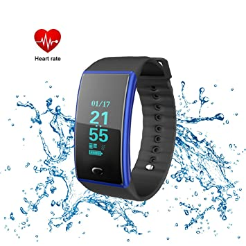 Amazon.com: Fitness Tracker, impermeable reloj inteligente ...
