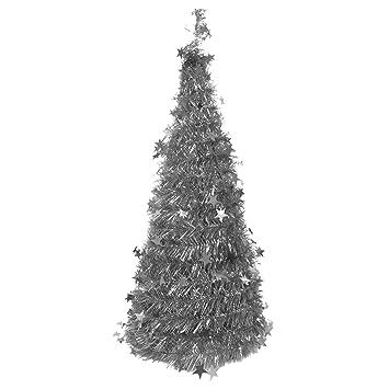 Kunst weihnachtsbaum silber