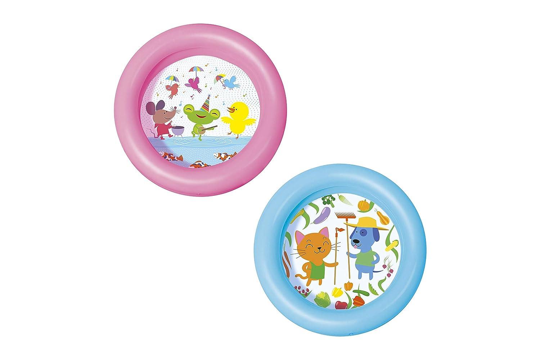 Piscina Hinchable Infantil Bestway Kiddie 2-Anillos, colores surtidos (al azar)