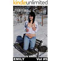 Emily Vol #4 : Sexy Brunette showing her intimates in snow book cover
