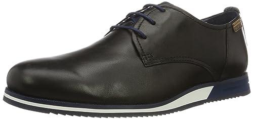 Pikolinos Leon M8e_v17, Zapatos de Cordones Oxford para Hombre, Negro (Black), 41 EU