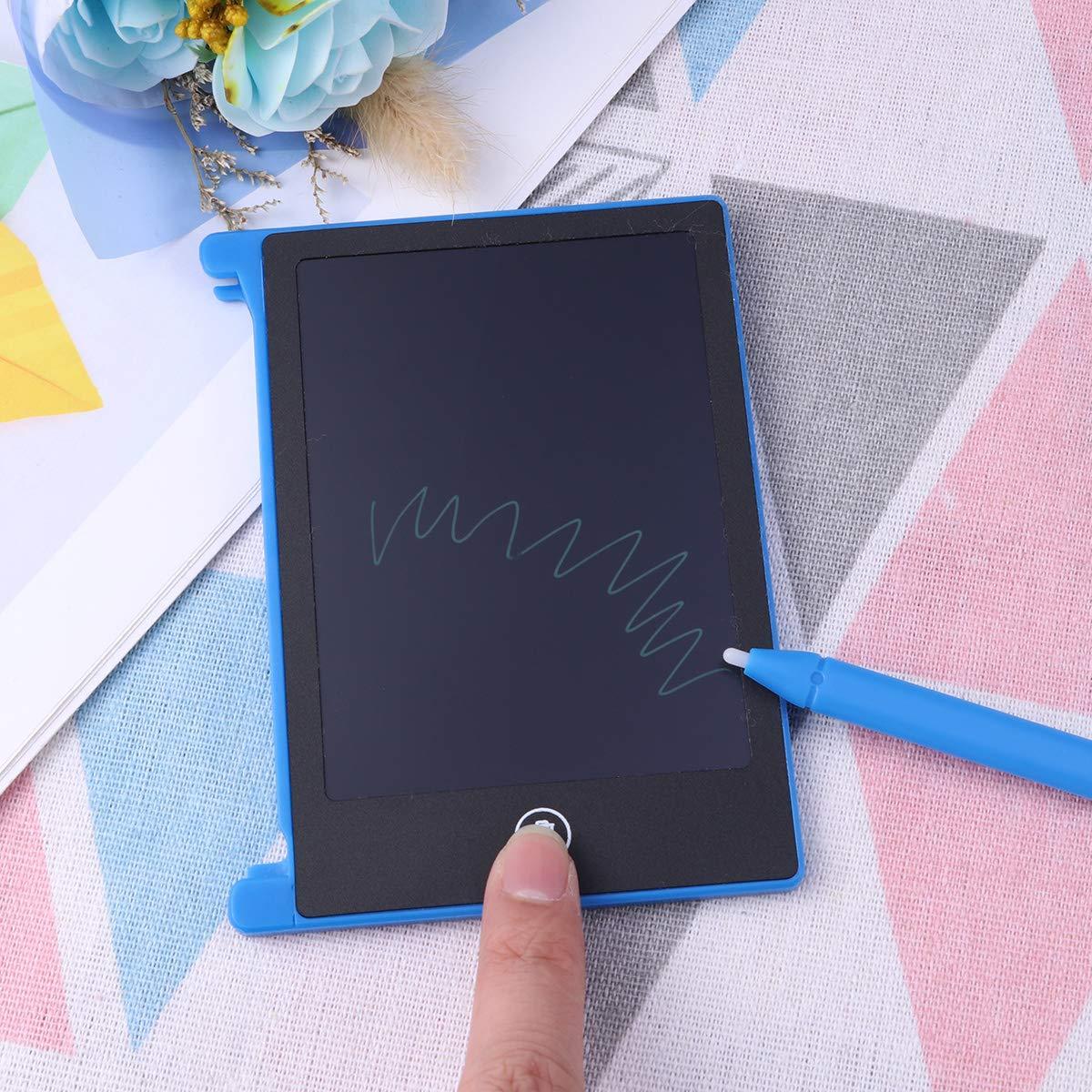 Herramienta de Graffiti para ni/ños Amarillo Desarrollo temprano Toyvian Tableta gr/áfica port/átil de 4,4 Pulgadas de Escritura Tableta gr/áfica port/átil