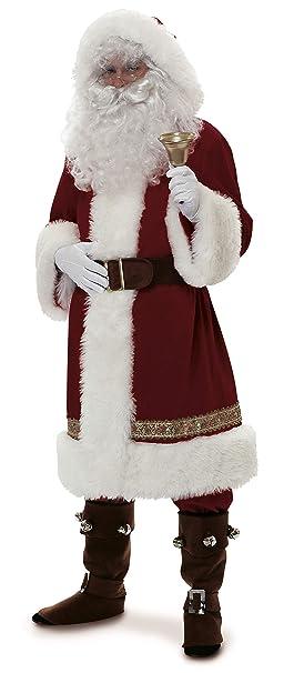 Amazon.com: Rubie s Costume super deluxe Old-Time Papá Noel ...