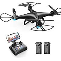 Holy Stone HS110D FPV RC Drone with 1080P HD Camera Live Video 120°Wide-Angle WiFi…