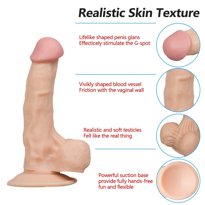 Consolador-360 ° Rotación 7,28 Pulgadas Resistente Al Al Resistente Agua 3D Pene Realista Para Las Mujeres Con Ventosa, Juguetes Para Adultos Para Parejas Sexo Y Mujeres 6ab853
