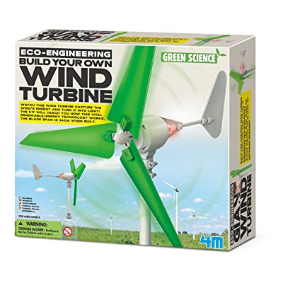 4M Wind Turbine Science Kit, Green Science: Toys & Games