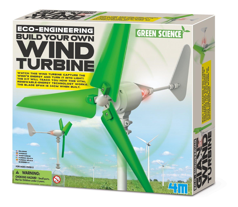 Amazon 4M 3018 Wind Turbine Science Kit Toys & Games