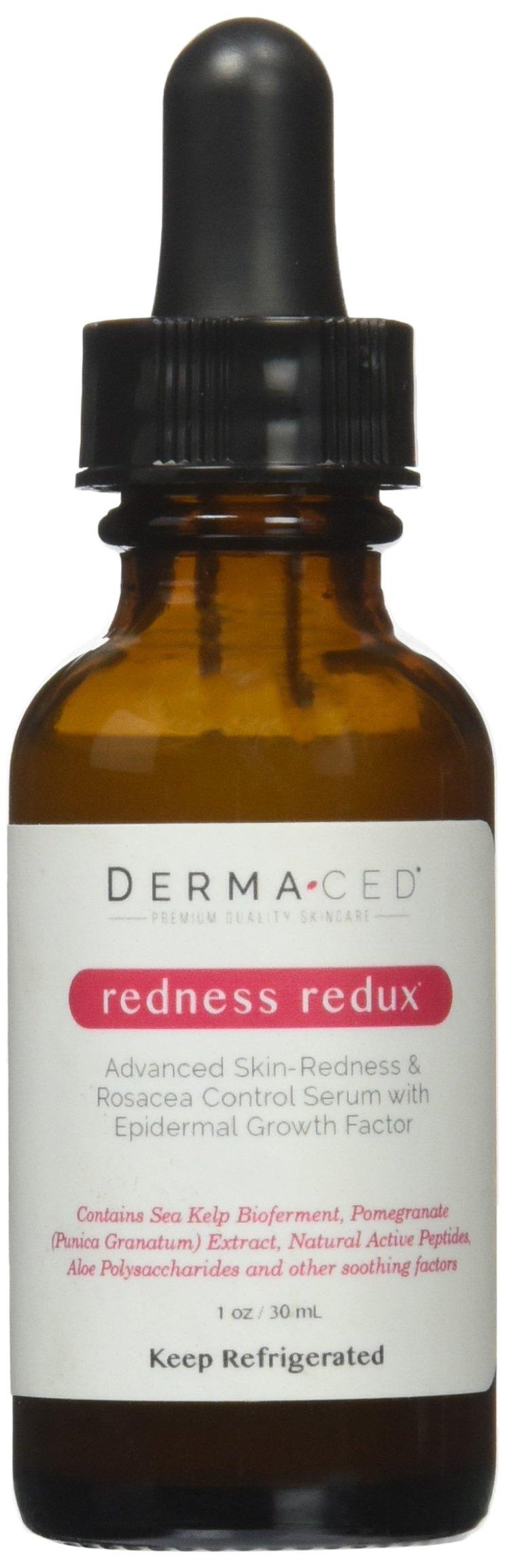 Dermaced Redness Redux Advanced Rosacea & Skin Redness Serum, 1 oz.