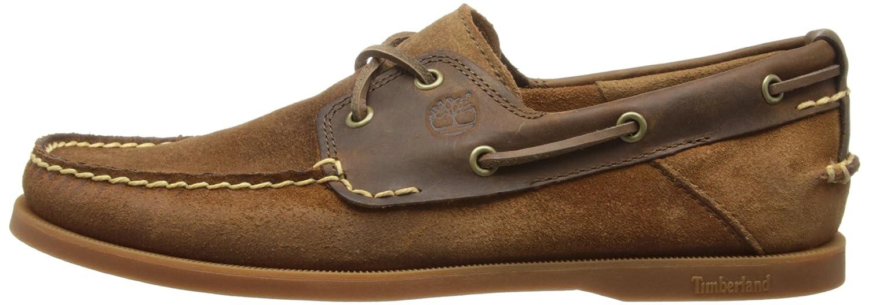 Timberland EKHERT2EYE BROWN MEDIUM BROWN - Mocasines de cuero para hombre: Amazon.es: Zapatos y complementos