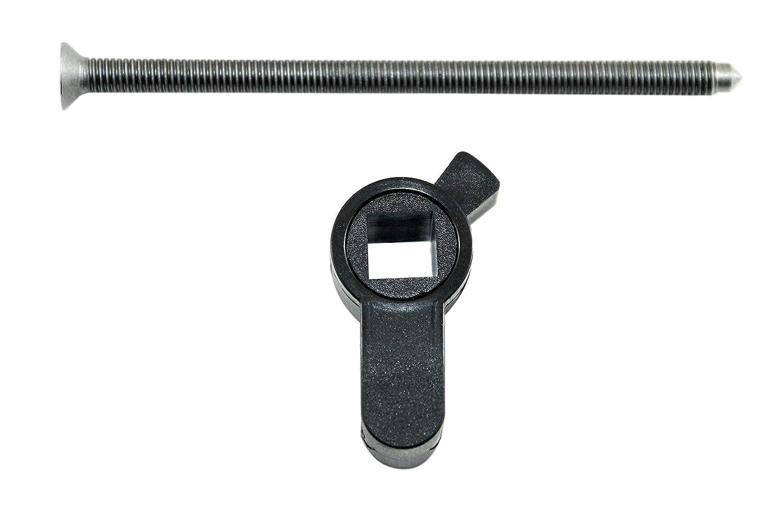 SN-TEC Vierkant Einsatz PZ f/ür Badt/üren mit 8mm Vierkant