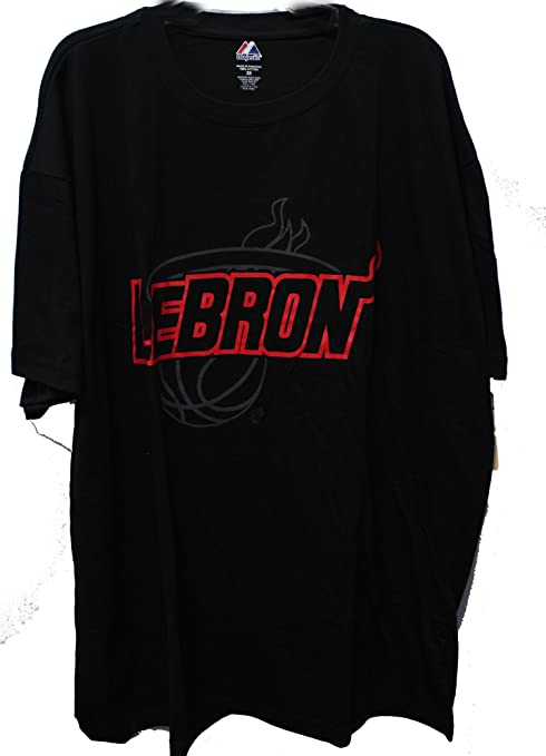 promo code e97c4 146da Lebron James #6 Miami Heat Big And Tall Tee Shirt