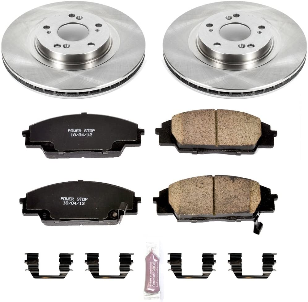 Autospecialty KOE2439 1-Click OE Replacement Brake Kit