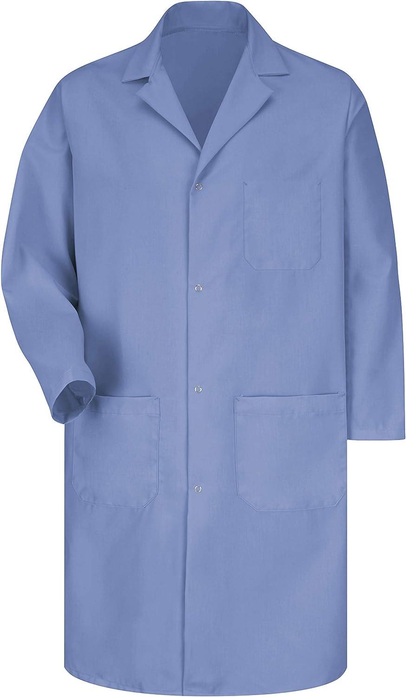 Red Kap Men's Rk Lab Coat: Clothing