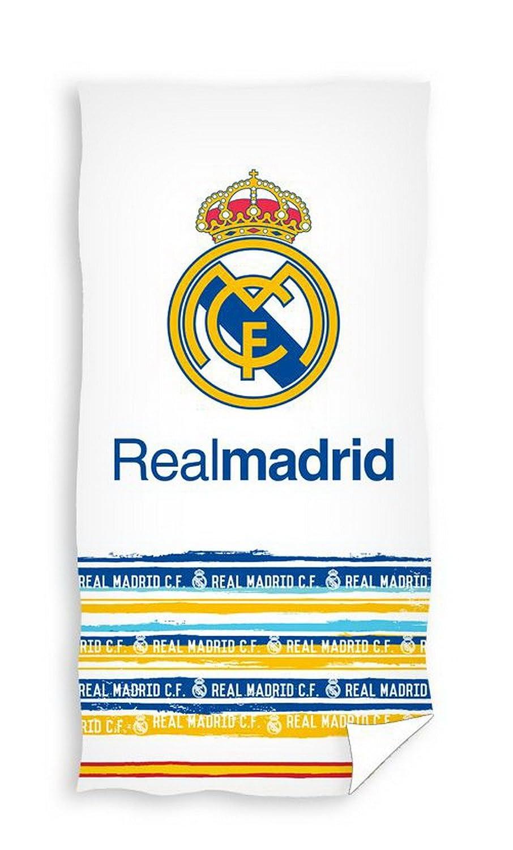 Real Madrid Toalla de Ba/ño y Playa de Algod/ón con licencia Oficial RM14