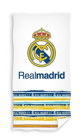 Real Madrid Toalla de ducha (150 x 75 cm Toalla de playa toalla rm173010: Amazon.es: Deportes y aire libre